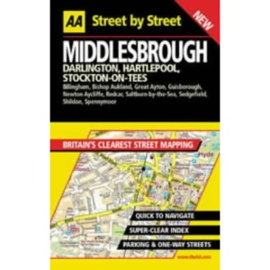 AA Street by Street Middlesbrough