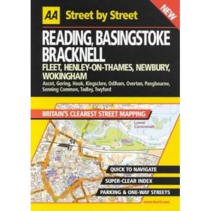 AA Street by Street Reading, Basingstoke, Bracknell