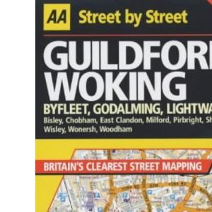 AA Street by Street Guildford, Woking
