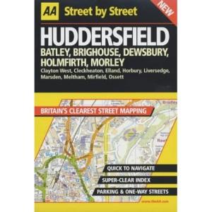 AA Street by Street Huddersfield