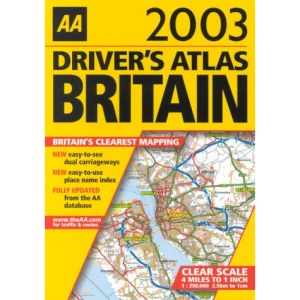 Driver's Atlas of Britain (AA Atlases S.)
