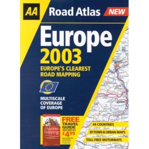 Road Atlas Europe (AA Atlases S.)