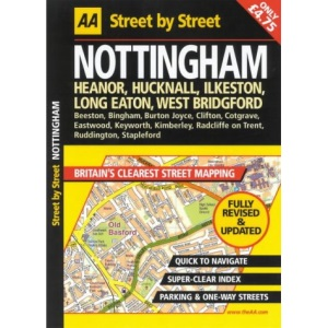 AA Street by Street Nottingham