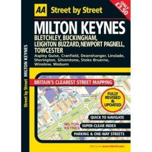 AA Street by Street Milton Keynes