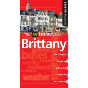 AA Essential Brittany (AA Essential Guide)