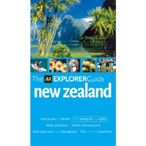 AA Explorer New Zealand (AA Explorer Guides)