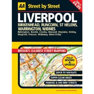 AA Street by Street Liverpool Midi
