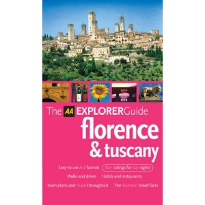 AA Explorer Florence and Tuscany (AA Explorer Guides)