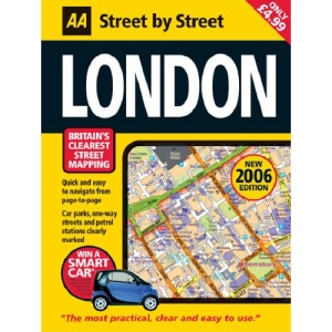AA Street Atlas London: Midi (AA Street by Street)