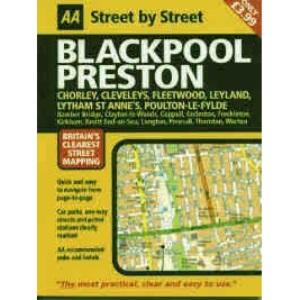 AA Street by Street Blackpool: Midi
