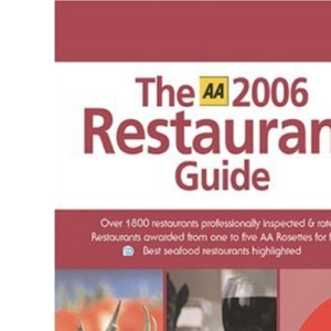 AA the Restaurant Guide (AA Lifestyle Guides)
