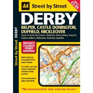 AA Street by Street Derby: Midi