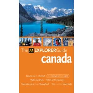 AA Explorer Canada (AA Explorer Guides)