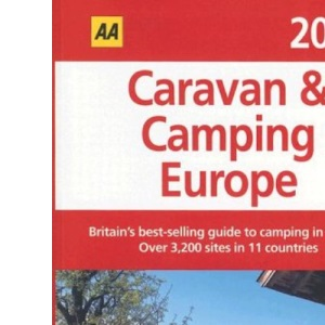 AA Caravan and Camping Europe 2006 (AA Lifestyle Guides)