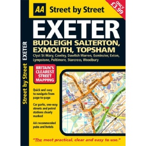 Exeter (AA Street by Street)