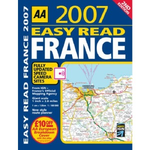 AA Easy Read France (AA Atlases S.)