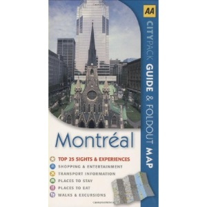AA CityPack Montreal (AA CityPack Guides)