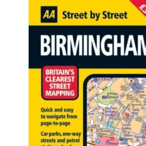 AA Street by Street Birmingham: Midi (AA Street by Street)