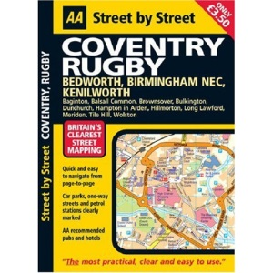 AA Street by Street Coventry: Midi (AA Street by Street)