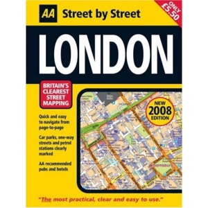 AA Street by Street London: Midi (AA Street by Street)