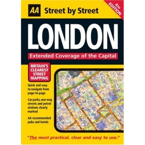 AA Street by Street London: Maxi (AA Street by Street)