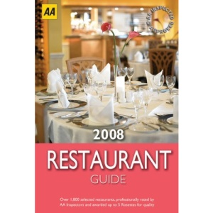 AA Restaurant Guide 2008 (AA Lifestyle Guides)