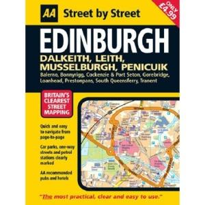 Edinburgh: Midi (AA Street by Street)