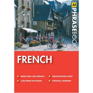 French (AA Phrase Book Series)
