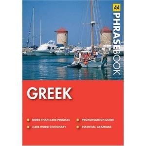 Greek (AA Phrase Book Series)
