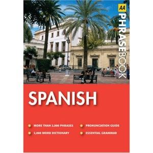 Spanish (AA Phrase Book Series)
