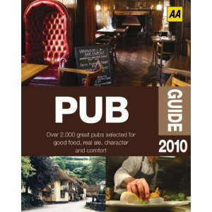 AA Pub Guide 2010 (AA Lifestyle Guides)