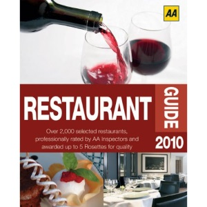 AA Restaurant Guide 2010 (AA Lifestyle Guides)