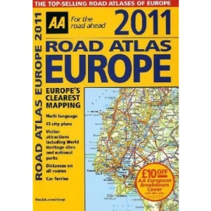Road Atlas Europe 2011 FB (AA Atlases and Maps)