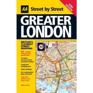 Street Atlas Greater London FB (AA Street by Street)