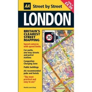 Street Atlas London Mini PB (AA Street by Street)