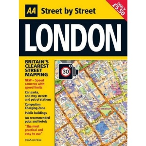 Street Atlas London Midi PB (AA Street by Street)