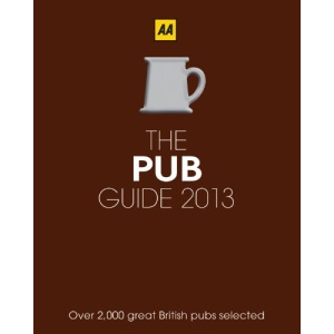 AA Pub Guide 2013 (Aa Lifestyle Guides)
