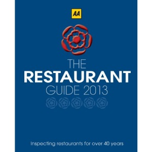 AA Restaurant Guide 2013 (Aa Lifestyle Guides)