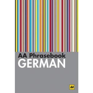 AA Phrasebook German (AA Phrasebooks)