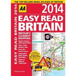 AA Easy Read Britain 2014 (Road Atlas)