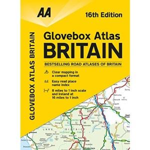 AA Glovebox Atlas Britain (AA Road Atlas)