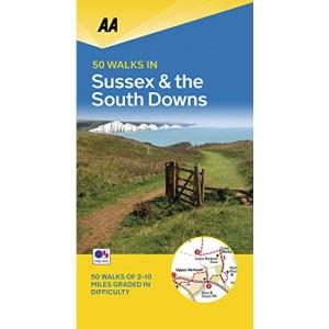 50 Walks in Sussex (AA 50 Walks)