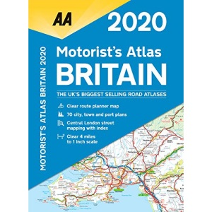 Motorists Atlas Britain 2020 Spiral bound (AA Road Atlas Britain)