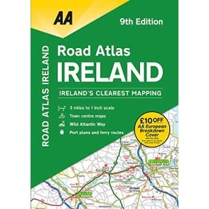 Road Atlas Ireland PB (AA Road Atlas Ireland)