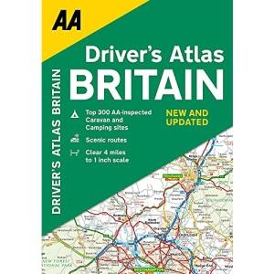 AA Drivers Atlas Britain Flexi Bound (AA Road Atlas Britain)