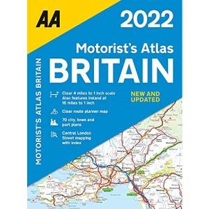 AA Motorists Atlas Britain 2022 Spiral Bound (AA Road Atlas Britain)