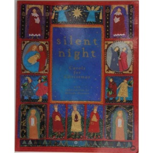Silent Night: Carols for Christmas with Embroideries by Belinda Downes