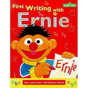 Sesame Street: First Writing with Ernie (Sesame Street workbook)