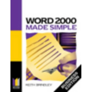 Word 2000 Made Simple: Business Edition (Made Simple Computer)