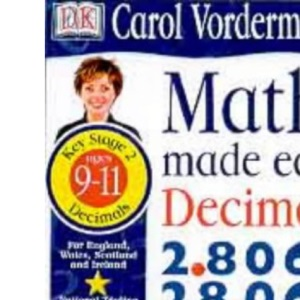 Maths Made Easy Topic Book: Decimals KS2 Upper (Maths Made Easy Workbooks)